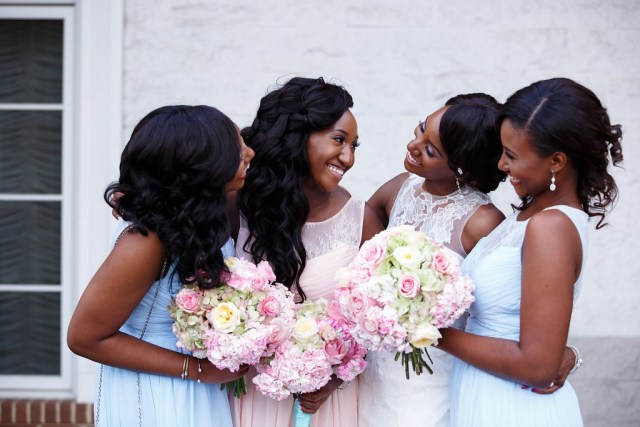 Chiso and Jeff's classic blue and pink wedding by wale ariztos photography 5