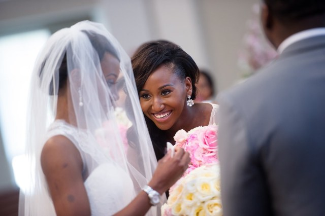 Classic Blue and Pink Wedding by Wale Ariztos 22