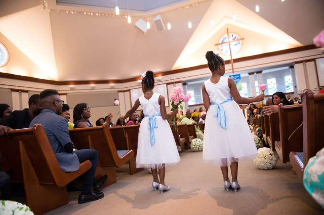 Classic Blue and Pink Wedding by Wale Ariztos 30