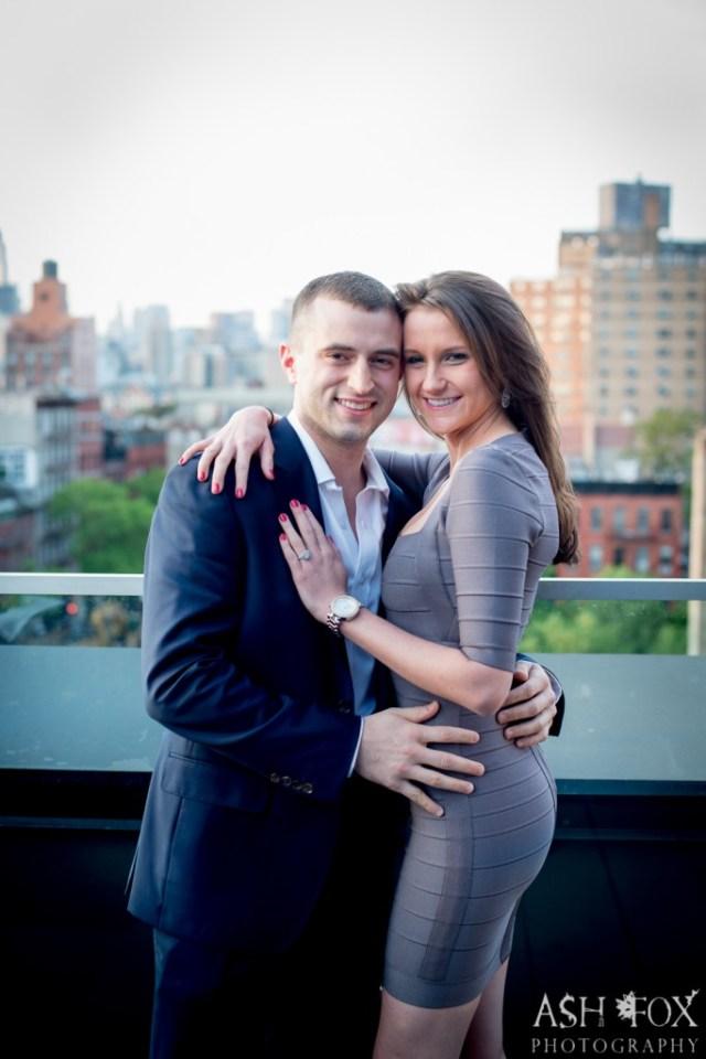 Katie and Ravi's Suprise Proposal at 60 LES 13