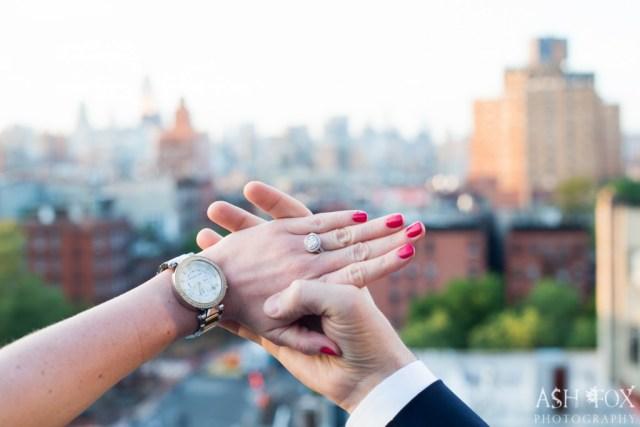 Katie and Ravi's Suprise Proposal at 60 LES 23