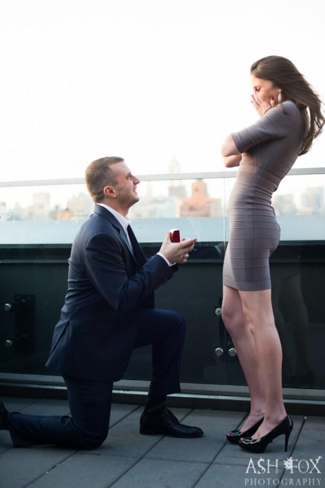 Katie and Ravi's Suprise Proposal at 60 LES 41