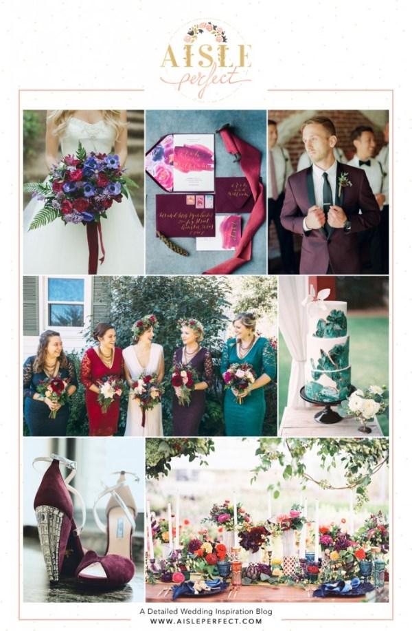 Jewel-Toned-wedding-Inspiration-Board