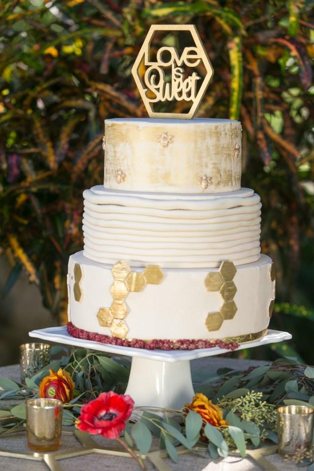Love is Sweet like Honey Party - Chantell Event Design (Designer) Swanky Celebrations (Floral Design) Sweet Treats by Nathalie (Cake) Ten23 Designs (Custom Decor) AJ Shorter Photography www.AJShorter.com