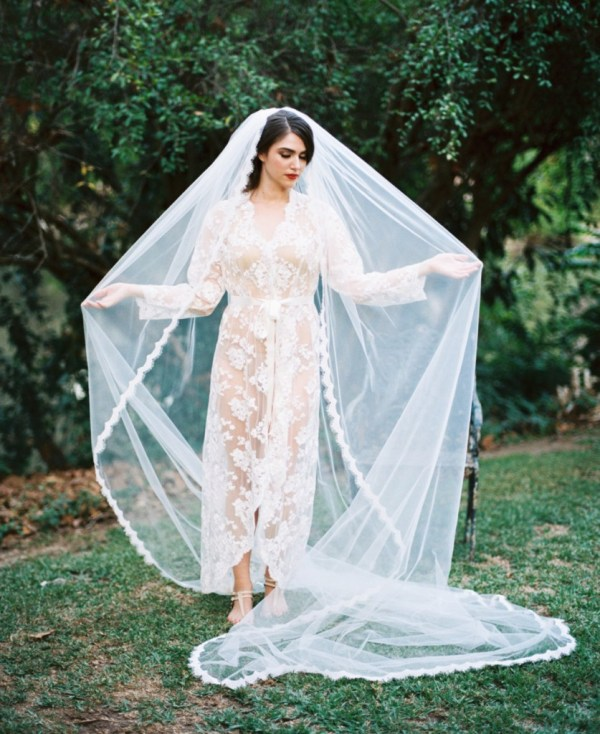 cathedral lace veil