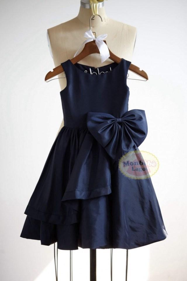navy-blue-flower-girl-dress-by-monbebelagos