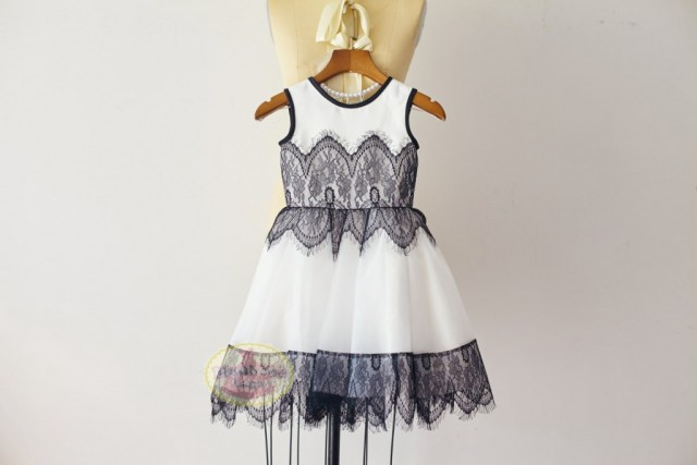 white-flower-girl-dress-with-black-lace-overlay-by-monbebelagos