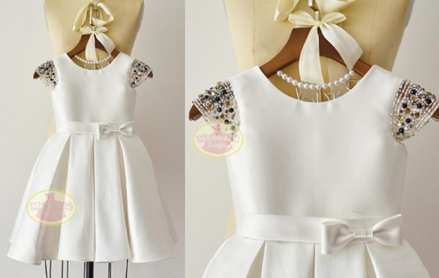 white-flower-girl-dress-with-embellished-cap-sleeves