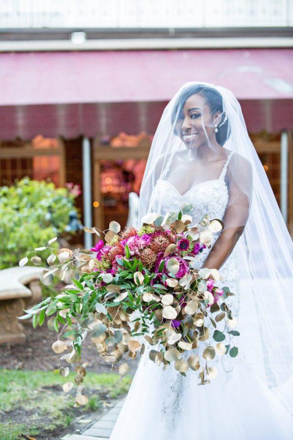 oversized bouquet
