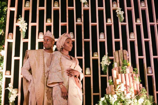 Traditional Yoruba Couple