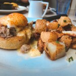 Kalua Pork Eggs Benedict from Cinnamon's