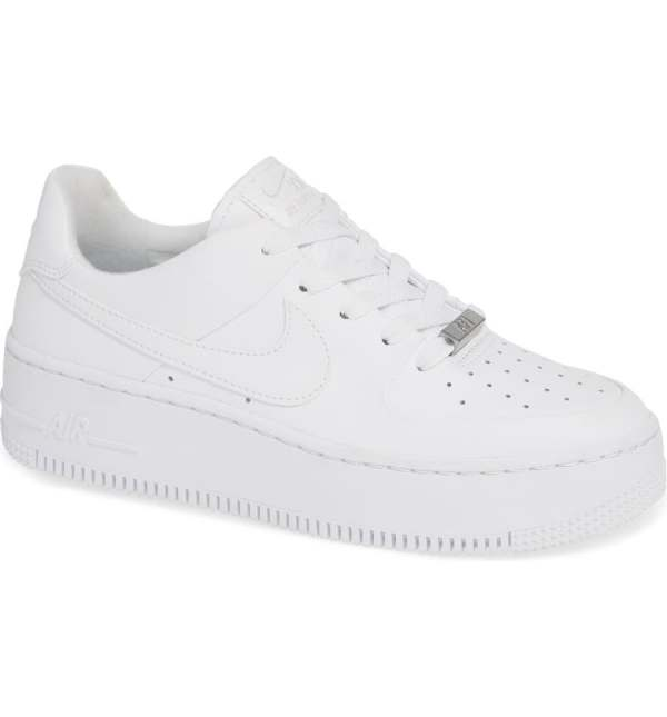 Nike Air Force One white sneakers