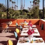 the parker palm springs hotel in palm springs california. 4 star resort with valet parking and gorgeous instagram worthy views by perfete