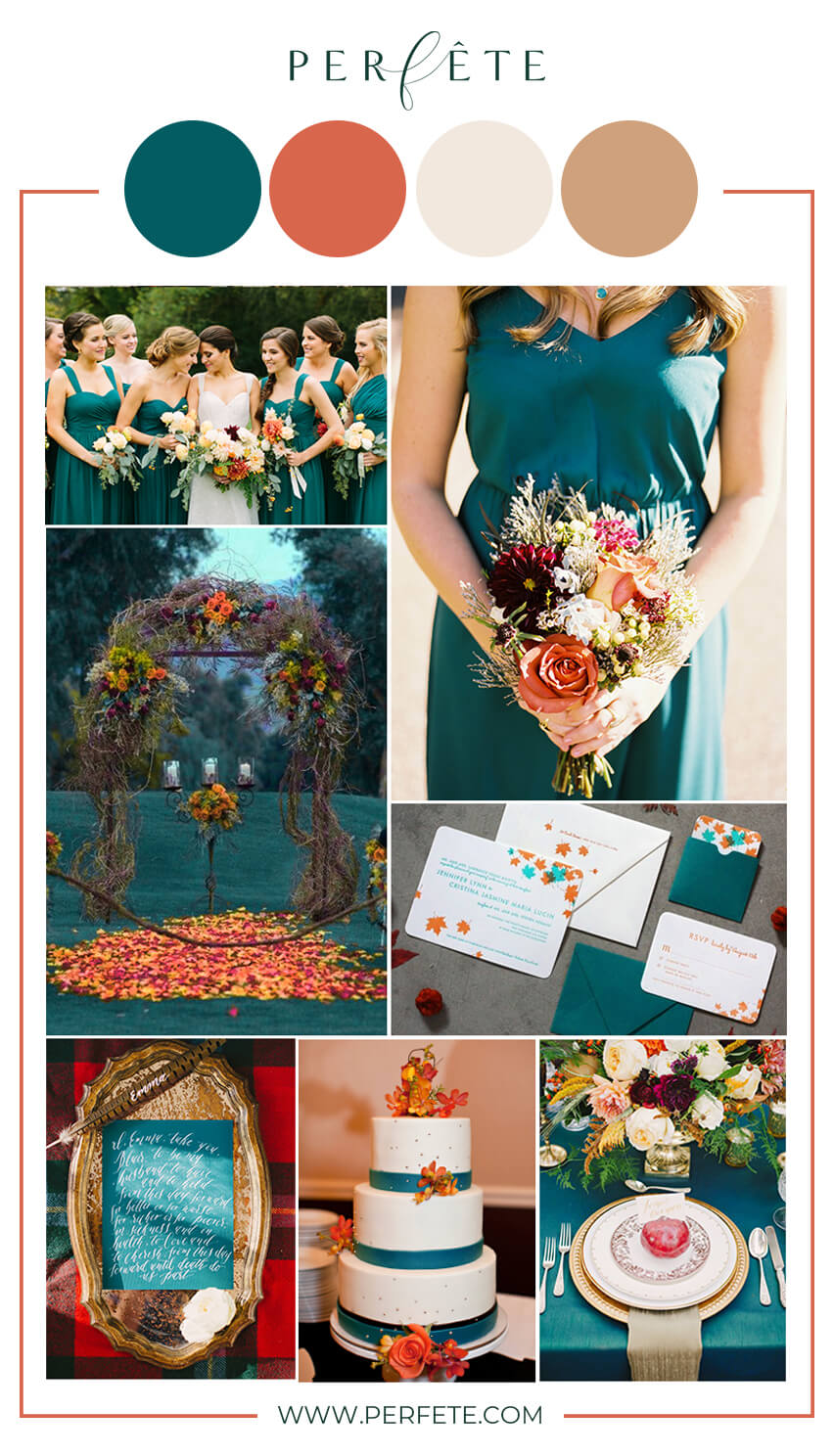 10 Fall Wedding Color Ideas to Consider - Perfete