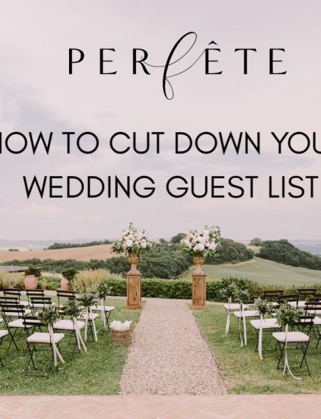 cut down wedding guest list