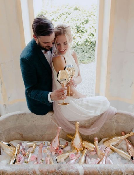 Charming Pastel Themed Wedding Inspiration at an Italian Villa -21