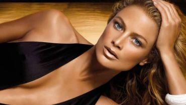 Maquiagem com efeito bronzeado