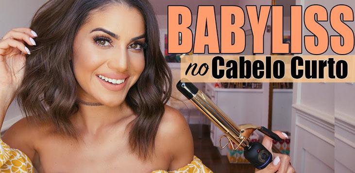Camila Coelho ensina como fazer babyliss no cabelo curto