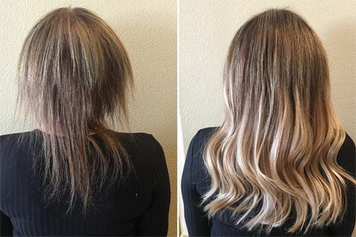 Resultado: antes e depois