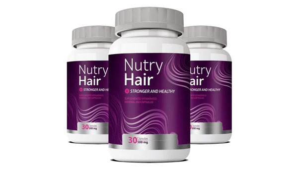 Nutry Hair: remédio para crescimento capilar