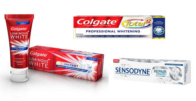 Creme dental que clareia os dentes