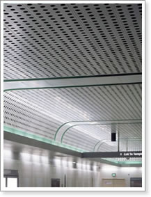 Perforated Panels For Acoustic System Building And