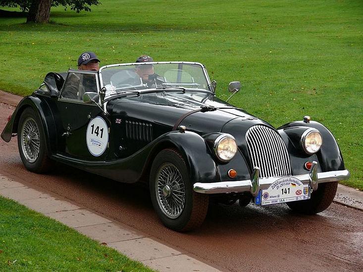 Morgan Plus 4 1950 On Amp 4 Plus 4 1936 On