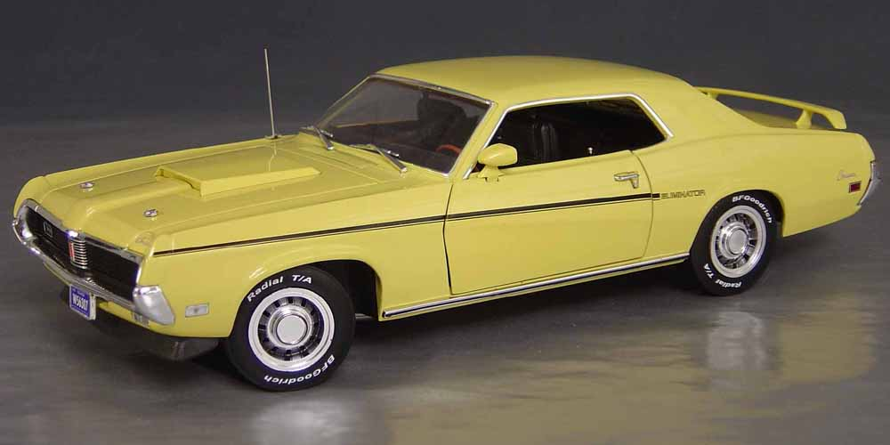1969 Mercury Cougar Eliminator Details   Diecast cars  diecast model     1969 Mercury Cougar Eliminator