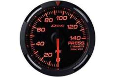 DEFI DF06602 Red Racer oil or fuel pressure gauge (PSI) 52mm