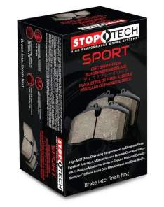 STOPTECH 309.12870 SPORT BRAKE PADS (Front)
