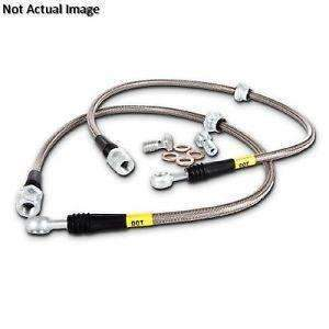STOPTECH 950.44025 Stainless Steel Brake Lines (front) Land Cruiser LC200/Lexus LX570