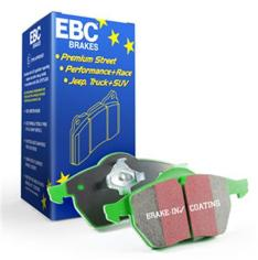 EBC DP61876 GREENSTUFF BRAKE PADS Rear for Nissan Patrol Y62 / Infiniti QX56-QX80