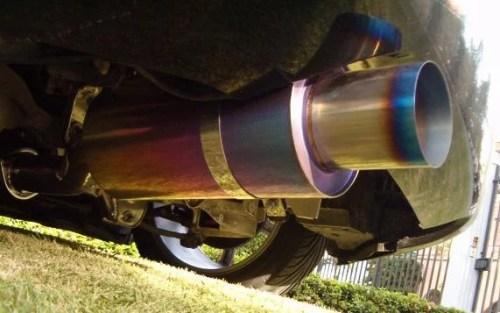 Agency Power Titanium Muffler Catback Exhaust Nissan 350Z 03-08