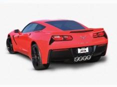 Borla Axle-Back Exhaust ATAK® C7 Corvette Stingray 2014-2019