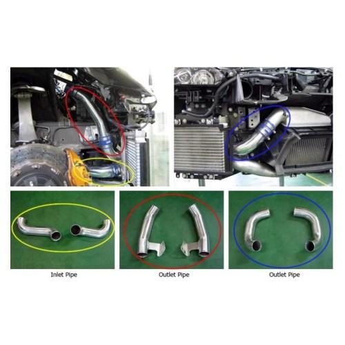 HKS 13002-AN004 Intercooler Piping Kit Nissan GTR35 2012+