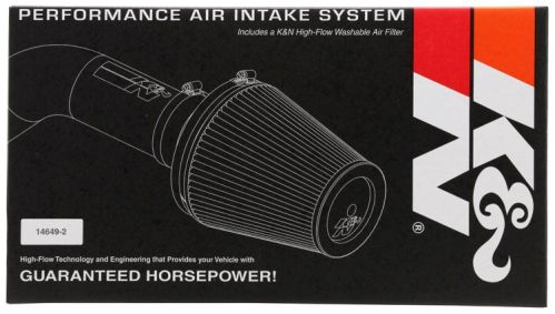 K&N 63-3517 AIR INTAKE SYSTEM Honda Civic 16-17 (Will Not Fit Type R)