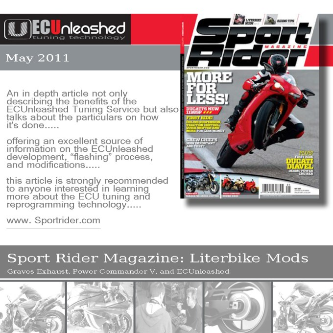 Sports Rider Magazine May Issue