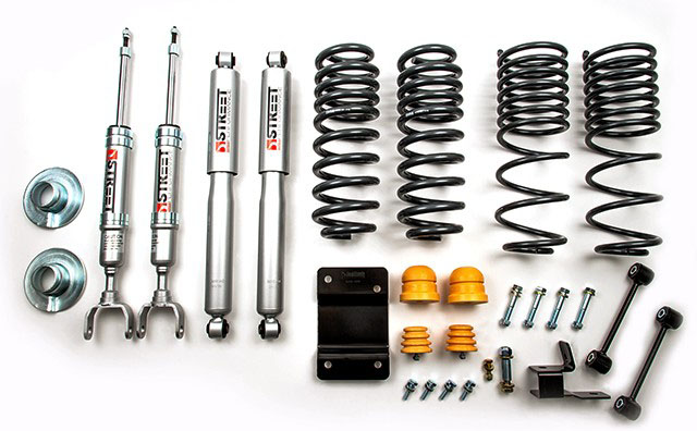 Belltech (965sp): Lowering Kit for '09-'18 Ram 1500 4WD