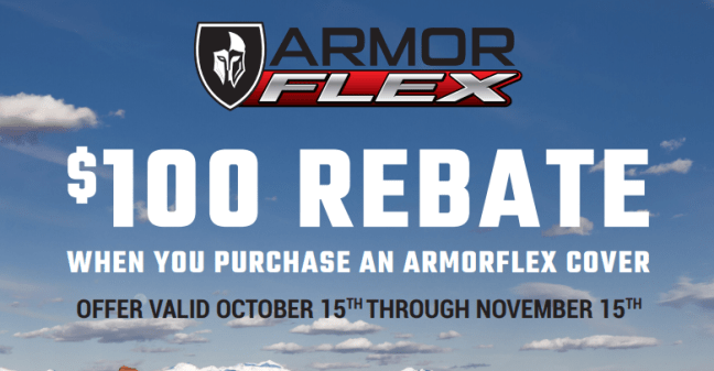 UnderCover: Get $100 Back on ArmorFlex Truck Bed Covers