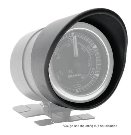 """AutoMeter Products: Gauge Visors for 2-1/16"""" AutoMeter and Spek-Pro Instruments"""