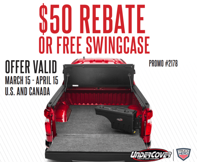 UnderCover Free SwingCase or $50 Back with Flex Purchase