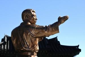 Eternal Grand Master H. U. Lee Statue