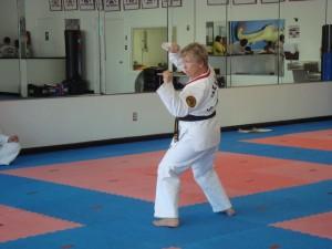 2nd Degree Black Belt Mrs. Lawson - Forms