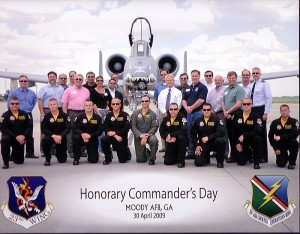 Moody AFB Honorary Commanders Day April 2009