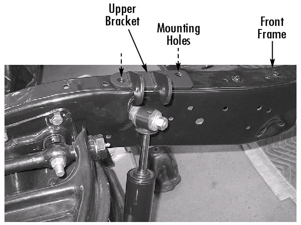 C10 Shock Mounting Stud