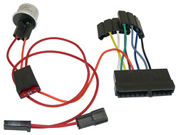 Steering Column Wire Harness Adapter, 6366 Chevy Impala, 6366 GM Truck, 6365 Nova, 6466 Corvette