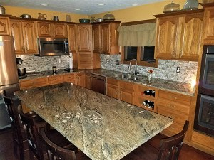 kitchen galleries featuring completed kitchen countertop projects