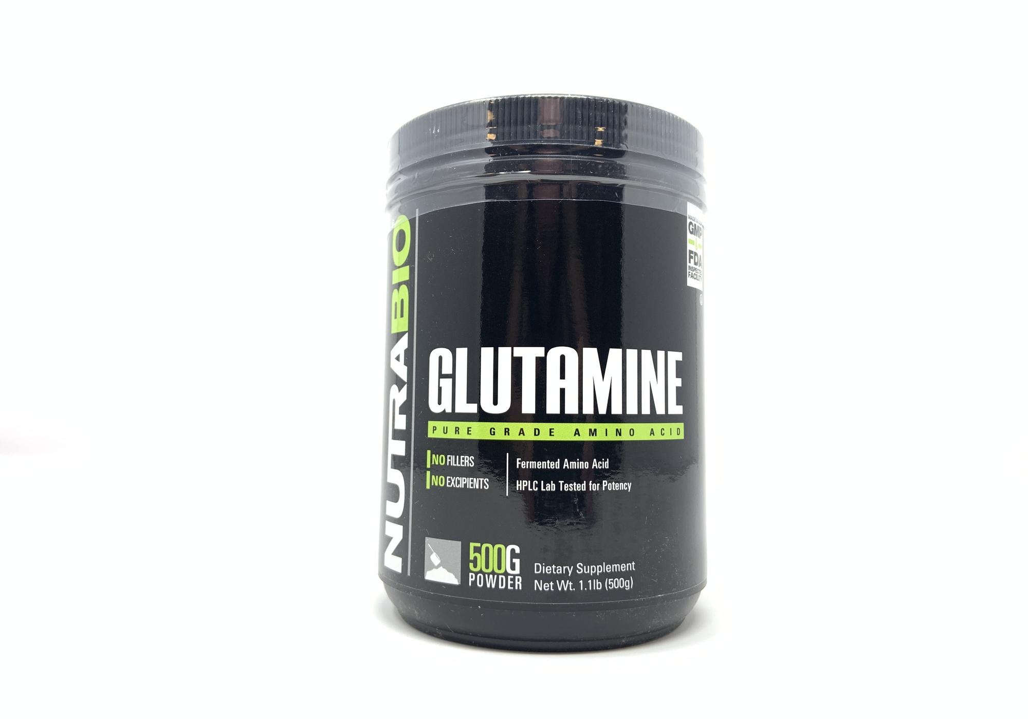 NutraBio- L-Glutamine 500g