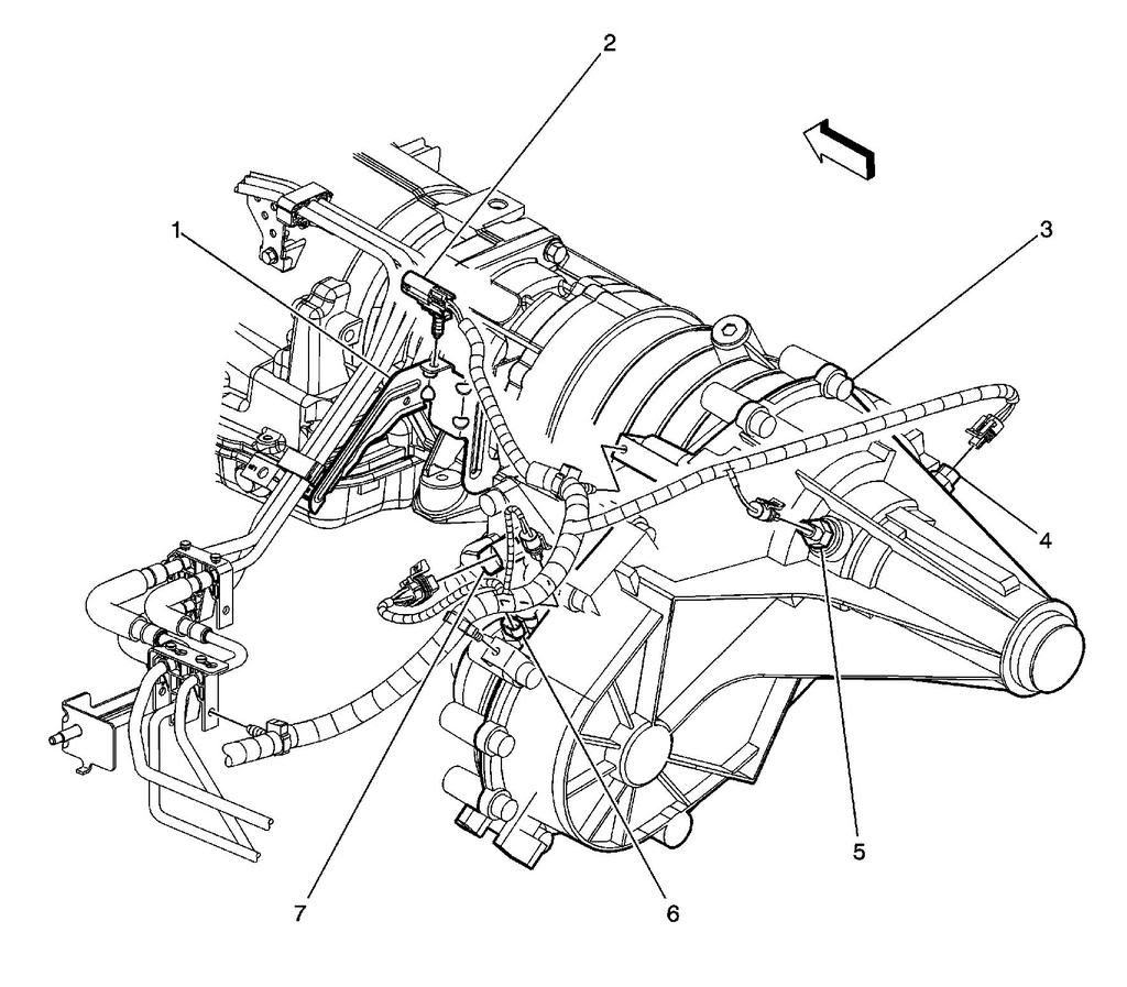 Chevy Transfer Case Diagram On Cadillac Transfer Case