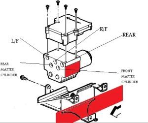 Brake line diagrams gmc sierra